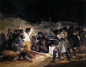 """ფრანსისკო გოია """"1808 წლის სამი მაისი"""""""